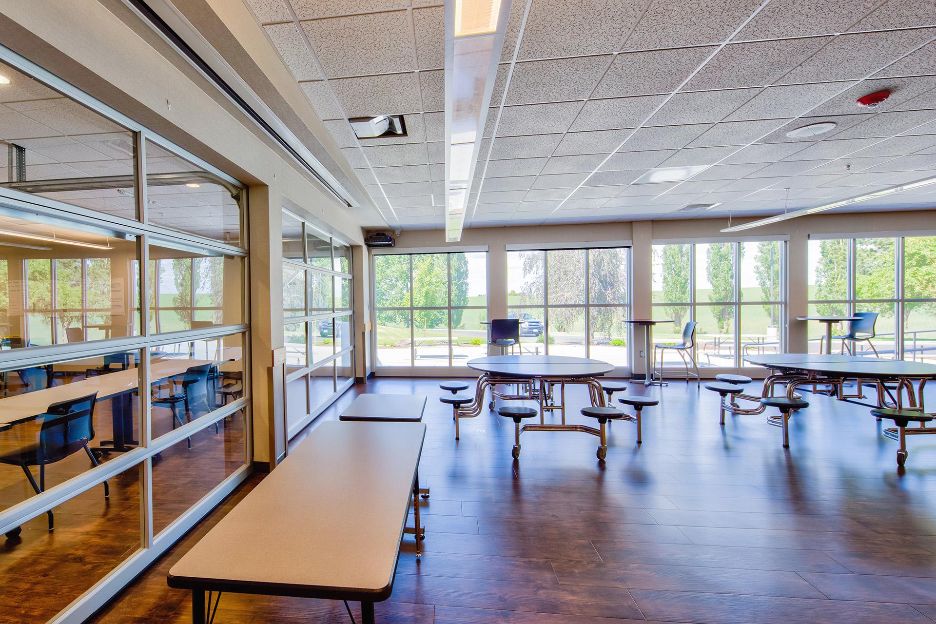 Lind-Ritzville High School Commons